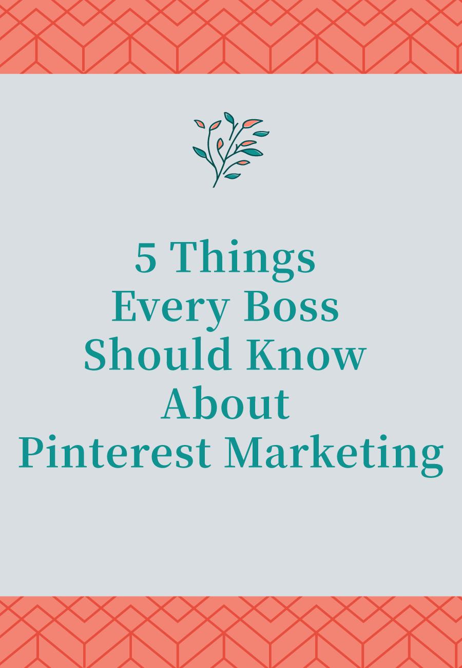 Don't let these 5 common Pinterest mistakes slow your Pinterest success.