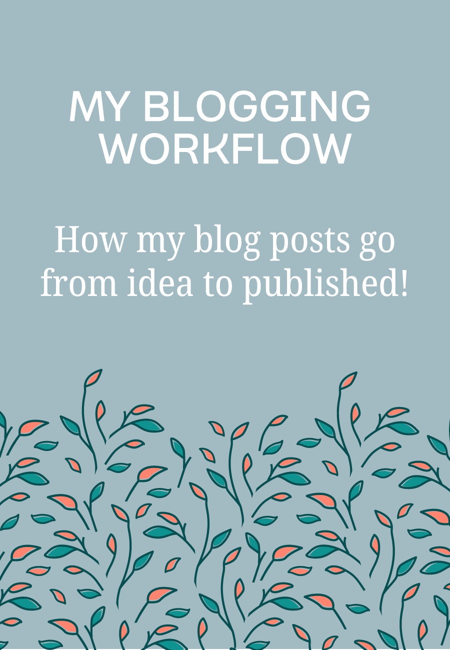 My step-by-step blog posting process plus tips for creating your own