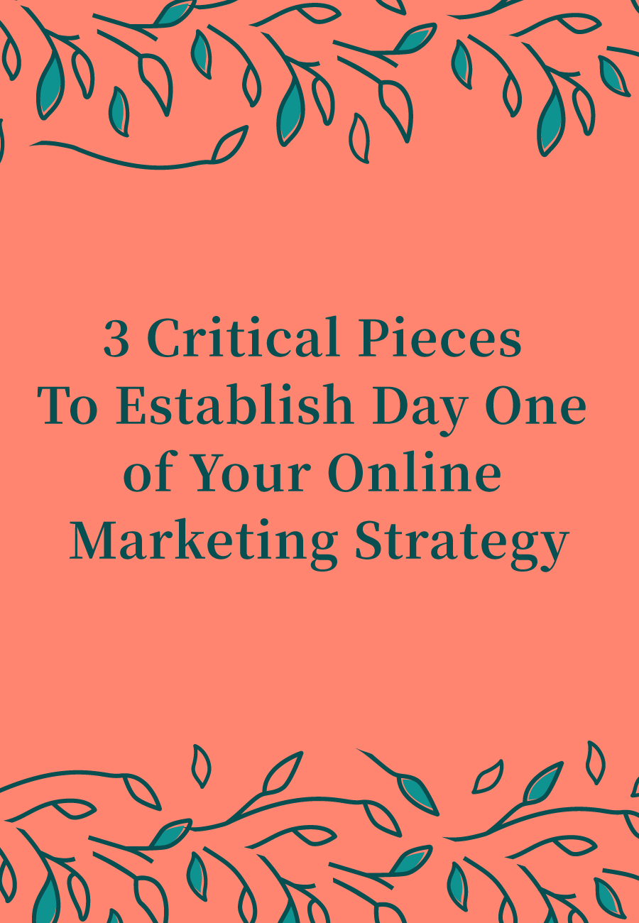 3 Critical Pieces To Get Your Marketing Strategy Started Right #bloomhustlegrow #business101 #marketing #marketingstrategy